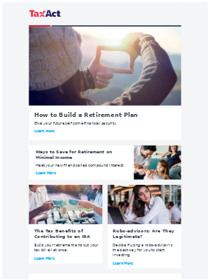 September TaxNews - How to Build a Retirement Plan