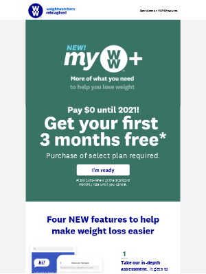 Weight Watchers - These NEW myWW+ features 😍