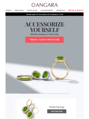 Peridot Jewelry: Infuse Olive Green Into Your Life!