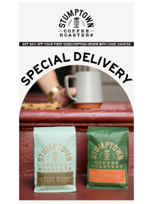 Stumptown Coffee Roasters - Drink up☕