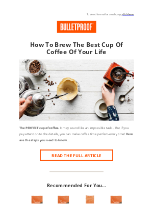 BULLETPROOF Inc - How to brew the BEST coffee you've ever had...