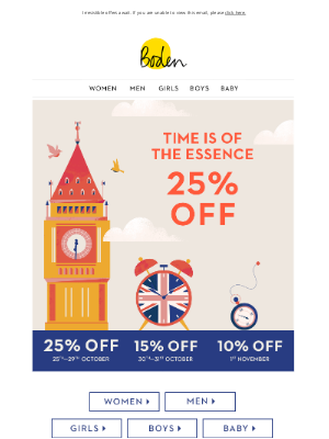 Boden USA - Don't miss out on 25% OFF