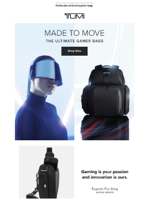 TUMI - What Gamers Want