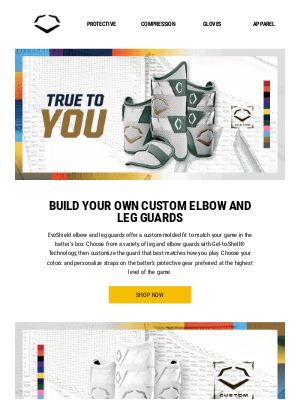 EvoShield LLC - Build a Guard to Match Your Game