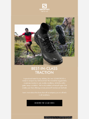 Salomon - S/LAB Cross: your trail running shoes for the muddiest conditions