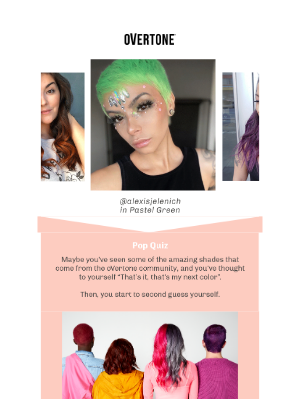 oVertone - Don't overthink your next color. Let us help.