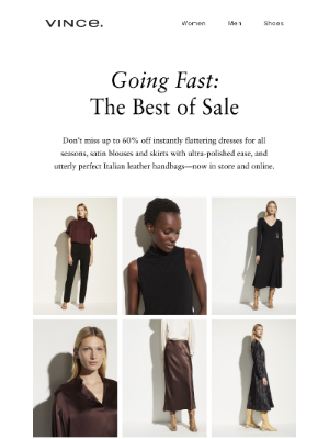 Vince - Sale's Most Wanted: Slip Skirts, Leather Totes, + More