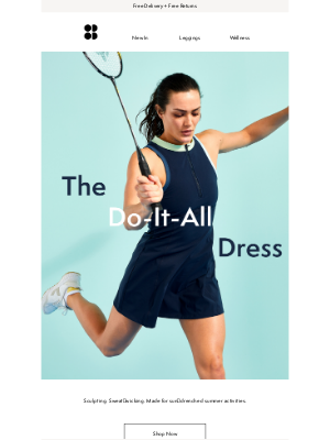 Sweaty Betty (UK) - But can your dress do this?