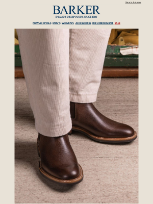 Barker Shoes (UK) - Archive Collection | Autumn / Winter 2021 | Barker Outlet Sample Sale Continues