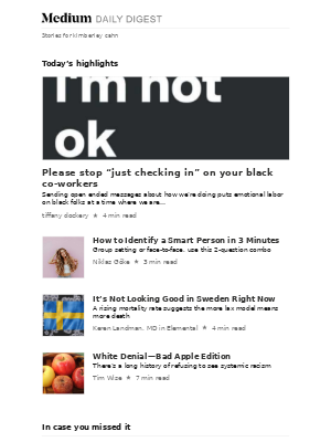 """Please stop """"just checking in"""" on your black co-workers 