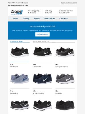 We've got it! Nike: Flex RN 2018