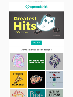 Spreadshirt - Your fall design delivery