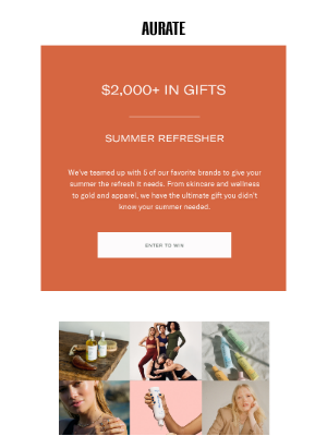 Get up to $2,000 in gifts
