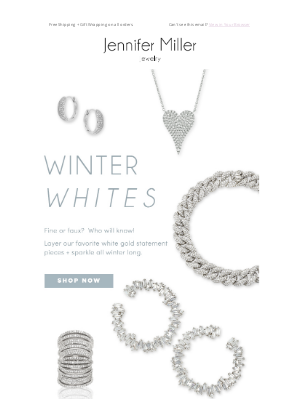 Jennifer Miller Jewelry - Sparkle Through The Winter And Beyond