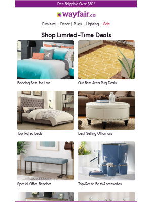 Wayfair (CA) - These deals on bedding sets are too good to miss