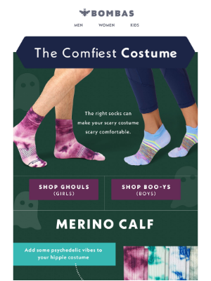 Bombas - The Only Thing Your Costume Is Missing