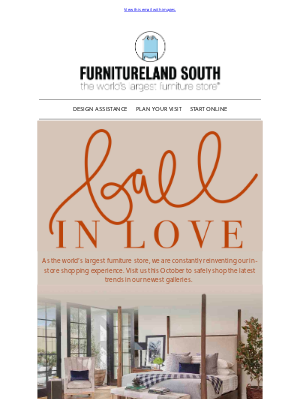 Furnitureland South - 4 Galleries, Limitless Style