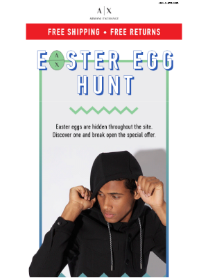 Find The Easter Egg and Get The Offer!