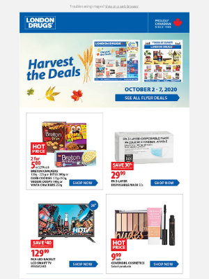 London Drugs (CA) - Save with our events – online and in store