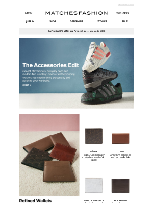 Matches Fashion (UK) - Accessories to elevate your wardrobe