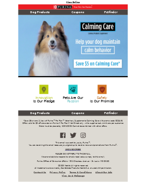 Purina - Don't forget to claim your savings