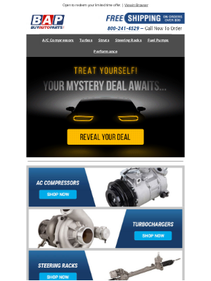 Buy Auto Parts - You Made The List For Exclusive Savings 🎉