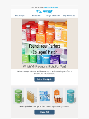 Vital Proteins - Your Perfect (Collagen) Match