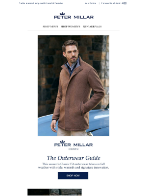 Peter Millar - The Outerwear Guide: Your Essential Styles For Fall