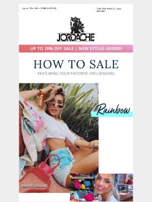 Jordache - How to SALE ft. your fav influencers