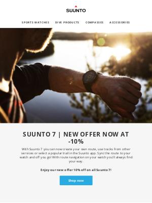 suunto - Suunto 7 | New offer now at -10%