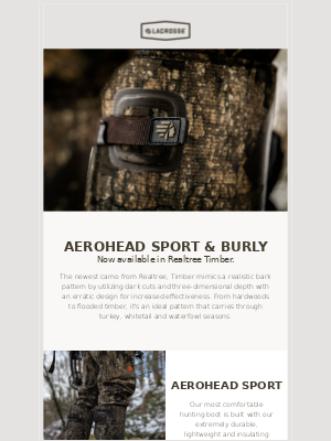 LaCrosse Footwear Inc - Our New Realtree Timber Boots Are Here