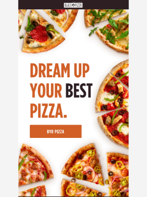 Blaze Pizza - You build it, we fire it. All the toppings you want, same price.