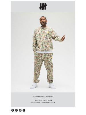 Undefeated - UNDEFEATED FALL '20 DROP 5 AVAILABLE NOW