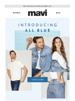 Mavi - Introducing The All Blue Collection