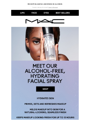 MAC Cosmetics - Fix+: Alcohol-free ✔️Hydrating ✔️Sets and refreshes makeup ✔️