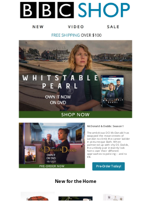 BBC - Shipping Now: Whitstable Pearl, plus All New to the Shop and More!