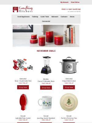 Everything Kitchens - November Deals 🔥