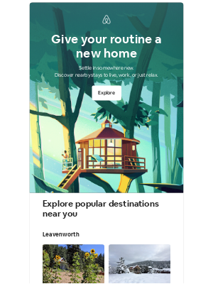 Airbnb - Iris, turn the everyday into a getaway