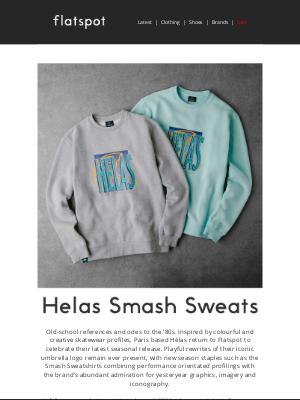 Flatspot - Hélas Smash Sweatshirt - Available Now