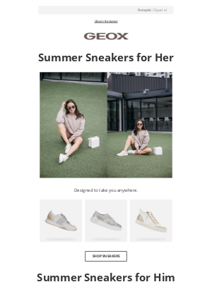 Geox - Summer Sneakers You Need Now