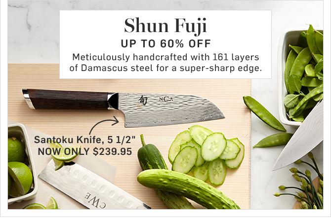 Shun Fuji - UP TO 60% Off