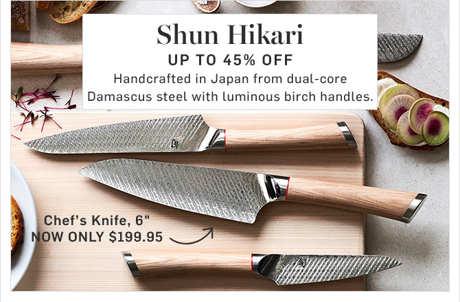 Shun Hikari - UP TO 45% Off