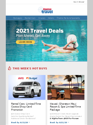 Costco - Have you heard about these vacations? Let Costco Travel take you somewhere new...