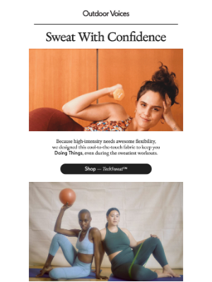 The TechSweat™ Collection
