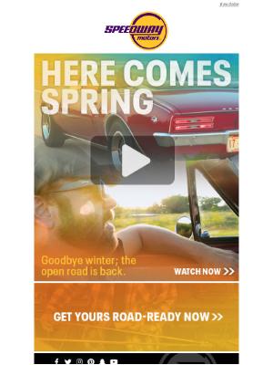 Speedway Motors - Driving Season Returns