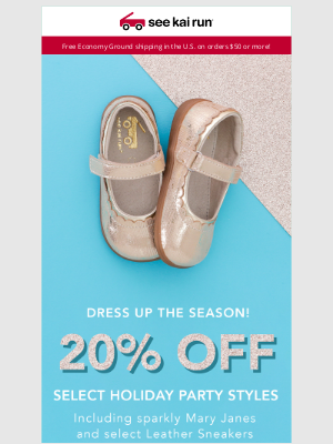 See Kai Run - Select Holiday Styles 20% Off