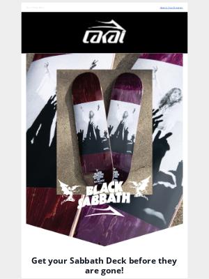 Lakai Footwear - Limited Edition Black Sabbath Skate Decks