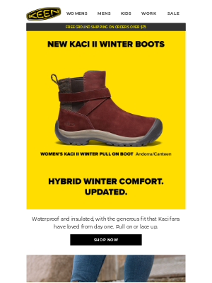 KEEN - Bestselling Casual Winter Boots. Updated.