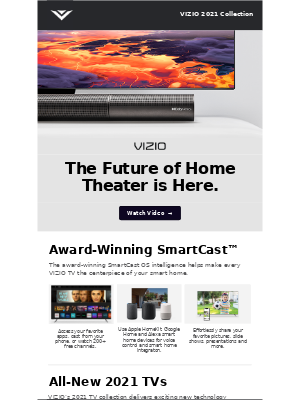 VIZIO - The Future of Your Home Theater is Here
