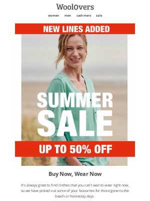WoolOvers (UK) - Up To 50% Off Styles You Will Want To Wear Now.